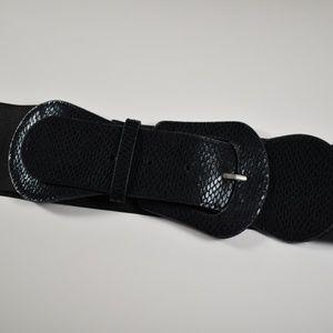 Accessories - Black Waist Belt